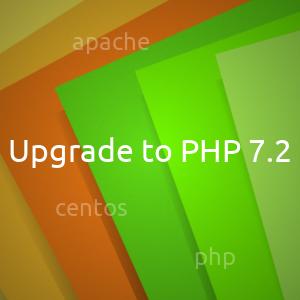 Обновление PHP 7.0 до PHP 7.2 на Centos 7