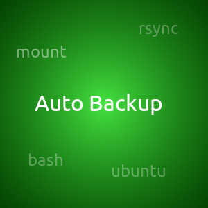 Автоматический бэкап файлов при подключении съемного носителя