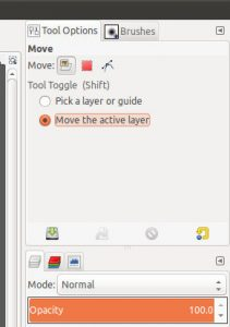 Как сделать GIMP более похожим на Photoshop 3