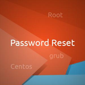 Сбросить пароль пользователя Root в Centos 7