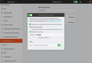 Общий доступ к экрану в Ubuntu 18.04 / 18.10 1