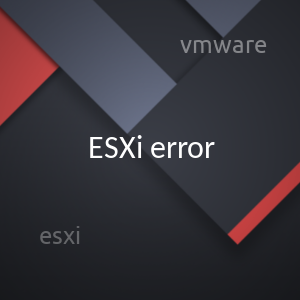 vmware esx cannot find the virtual disk