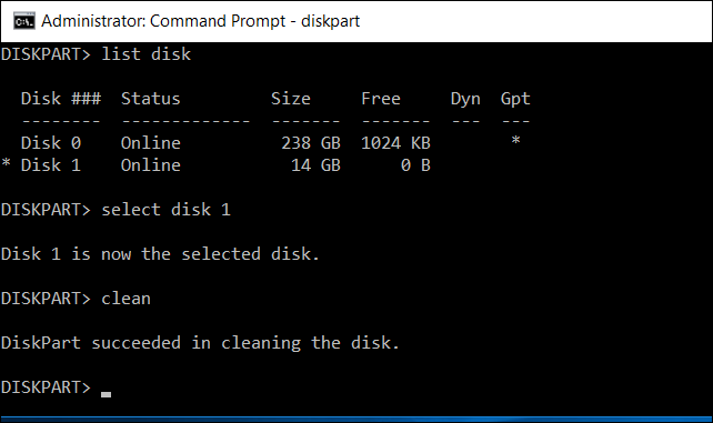 Удалить шифрованный EFI раздел в Windows 7/10,  создать новый раздел из командной строки. 1