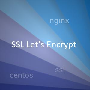 Бесплатный SSL и Widacard SSL сертификат от Let's Encrypt, подключение в NGINX и автообновление на Centos 7
