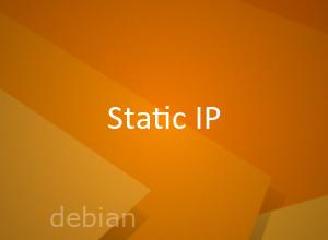 Настройка статического ip в Debian 10