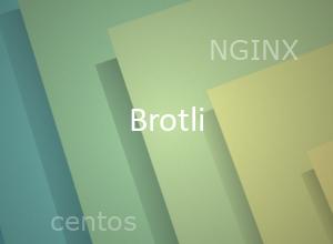 Установка и подключение модуля компрессии Brotli для NGINX в Centos 7