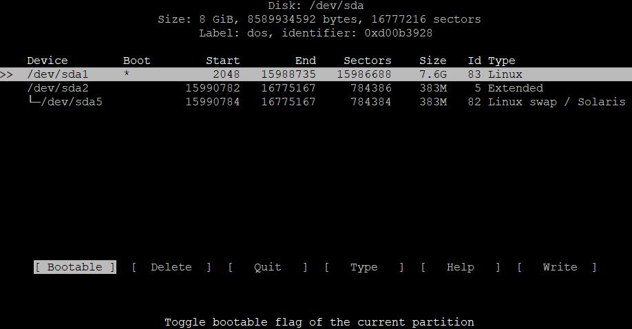 Расширить корневой раздел (ext4, не LVM) диска в Debian 3