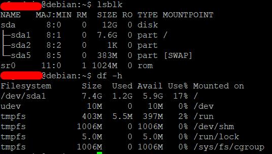 Расширить корневой раздел (ext4, не LVM) диска в Debian 4