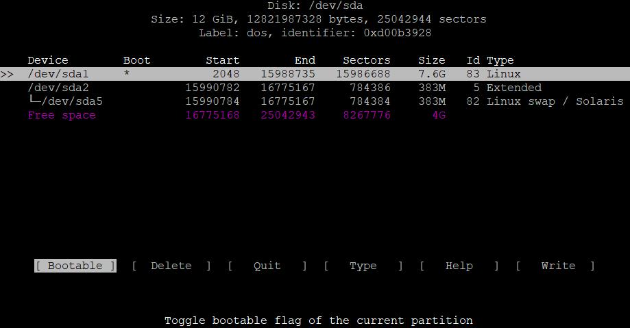 Расширить корневой раздел (ext4, не LVM) диска в Debian 5