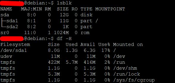 Расширить корневой раздел (ext4, не LVM) диска в Debian 6