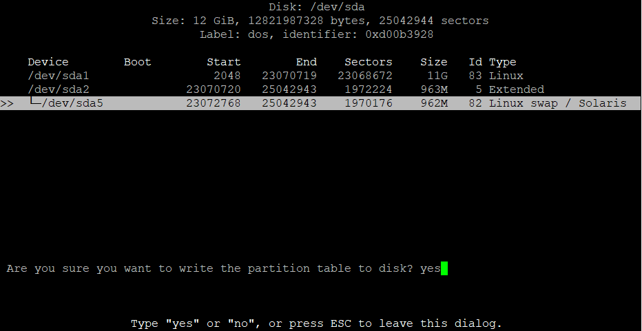Расширить корневой раздел (ext4, не LVM) диска в Debian 9