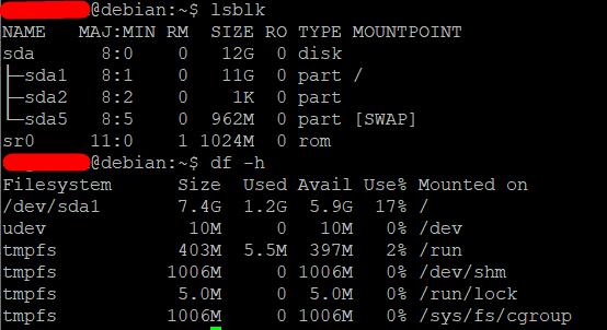 Расширить корневой раздел (ext4, не LVM) диска в Debian 10