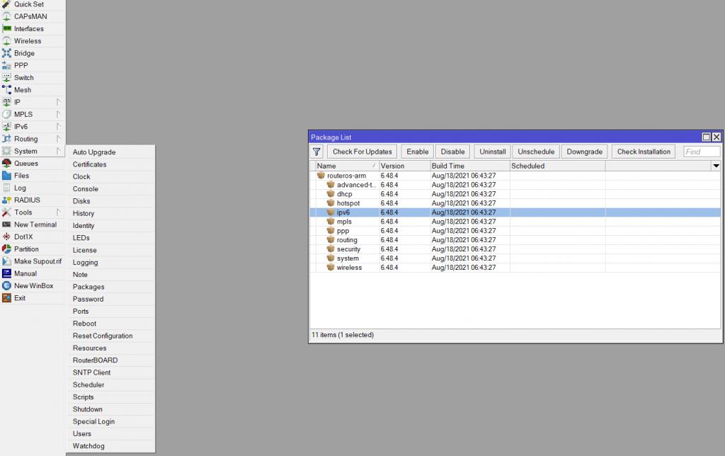 Настраиваем IPv6 от Ростелеком в роутере Mikrotik 2